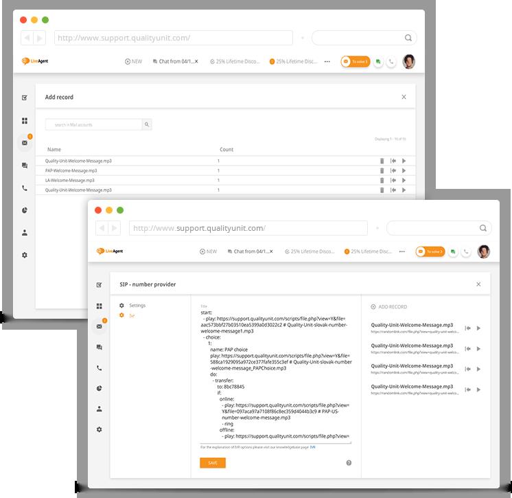 design-da-unidade-de-resposta-audível-do-LiveAgent